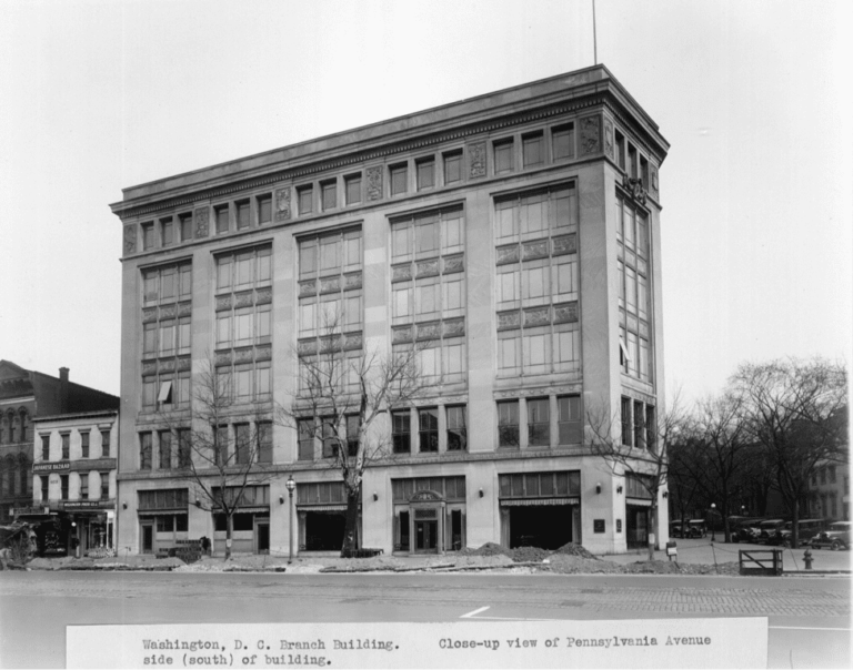 Washington branch office of Ford - current location of the Canadian Embassy