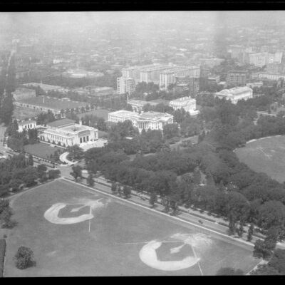 Amazing Views from the Washington Monument in 1924
