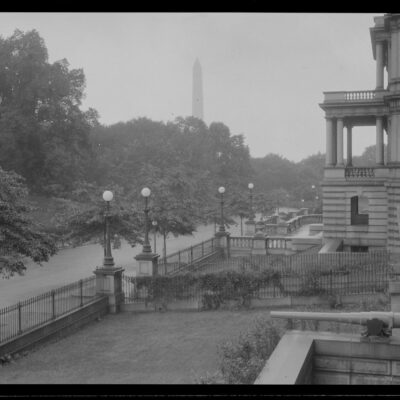 Washington Monument from old State, War, and Navy Buildin