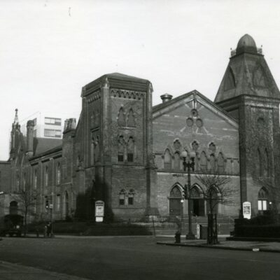 First Congregational Church (10 and G Streets NW) c. 1946. Bert Sheldon Photograph Collection, HSW.