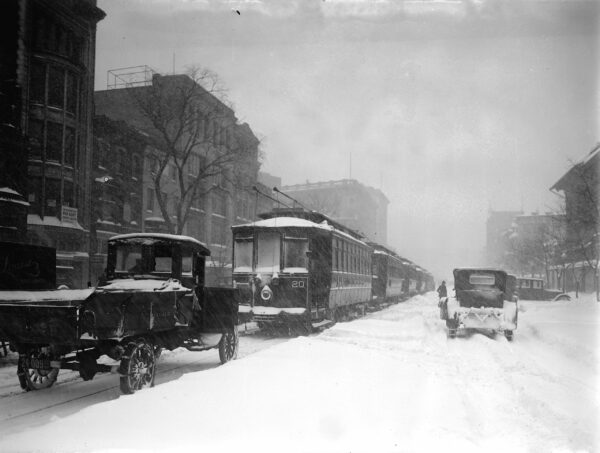January 28th, 1922 - snowstorm