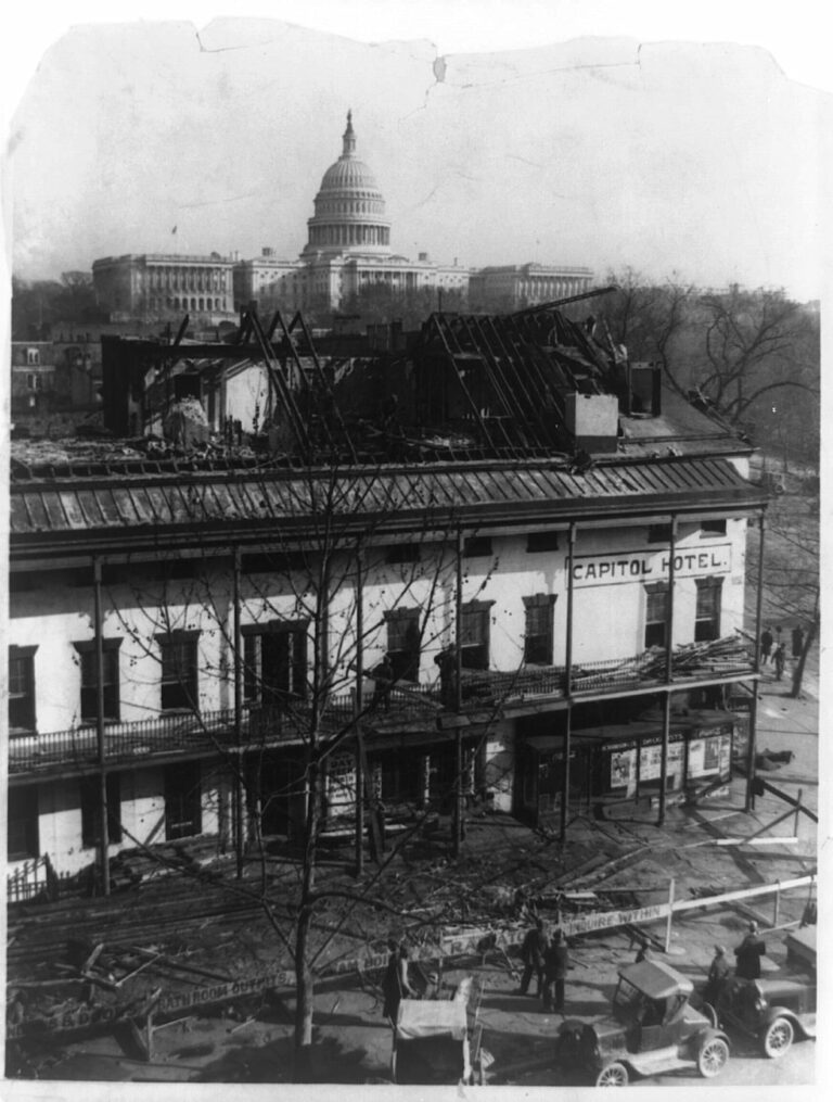 Famous Capitol landmark being dismantled to make way for modern business