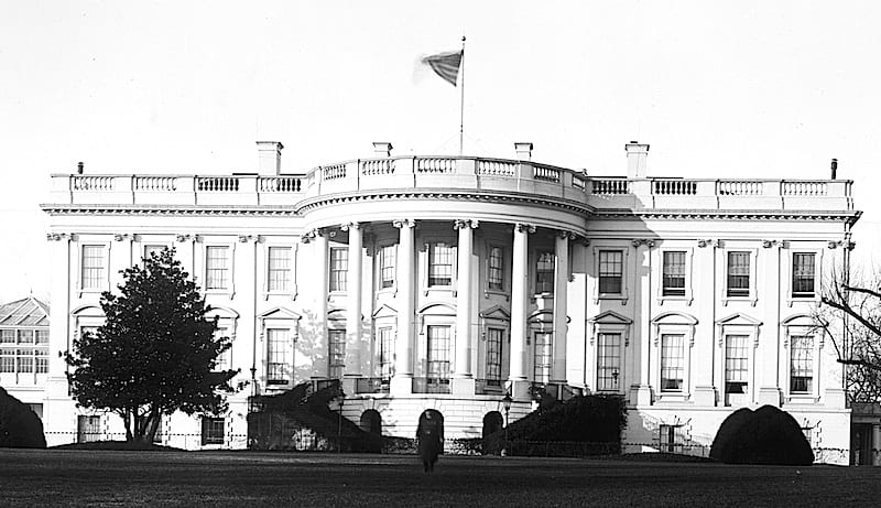 1890s Photo of the White House