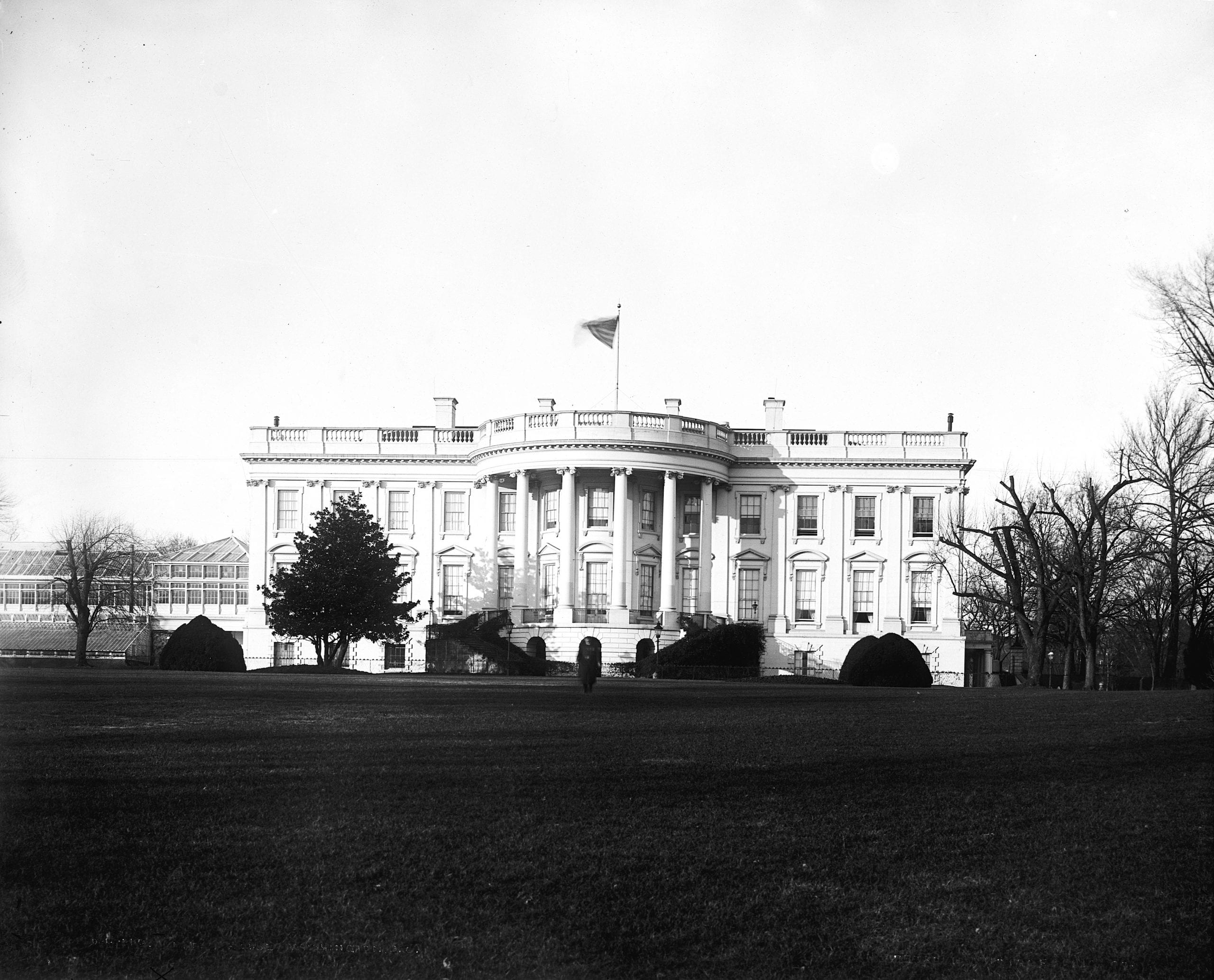 the White House in the 1890s