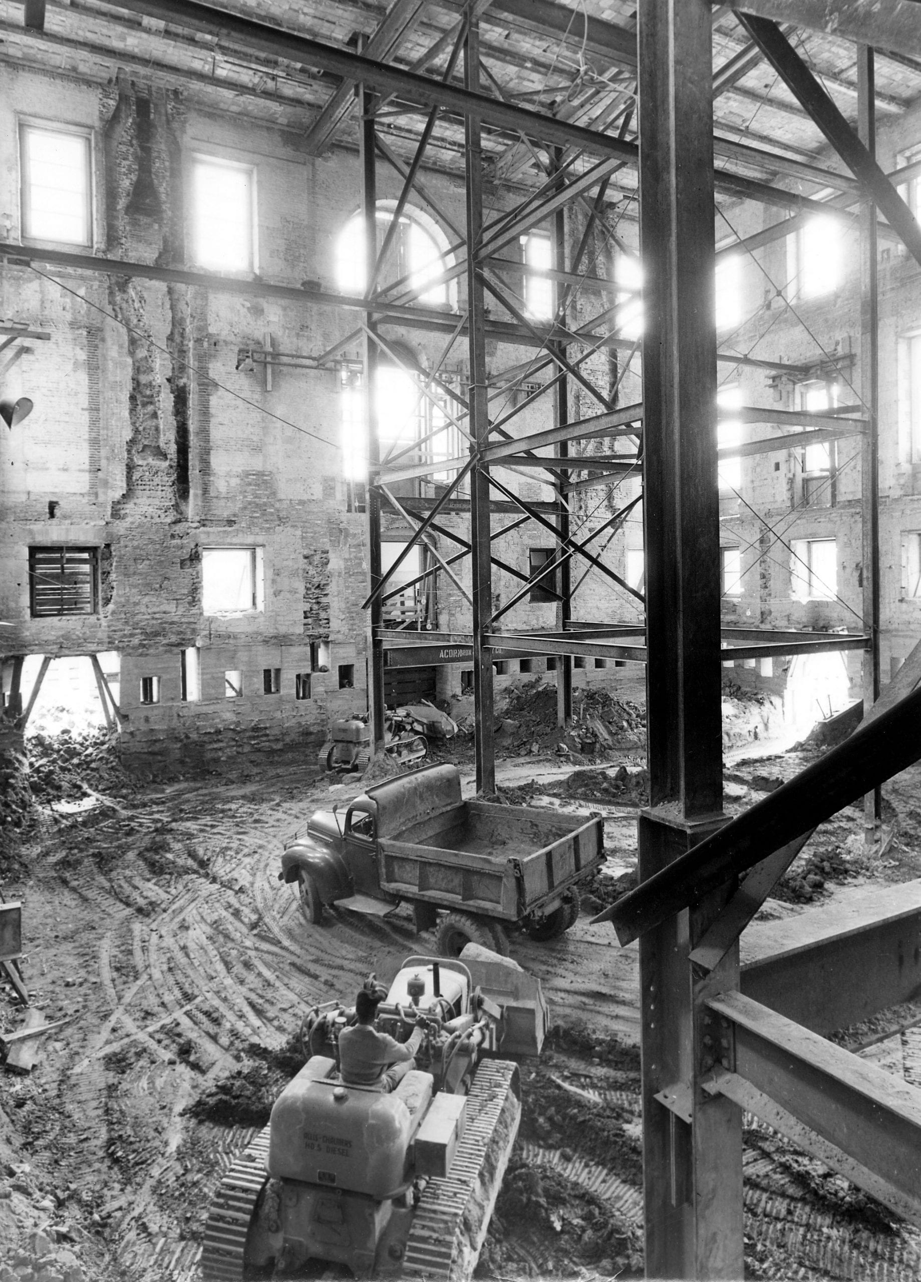 interior shell of the White House - May 15th, 1950