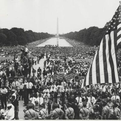 Incredible Crowd Photos from 1963 March on Washington