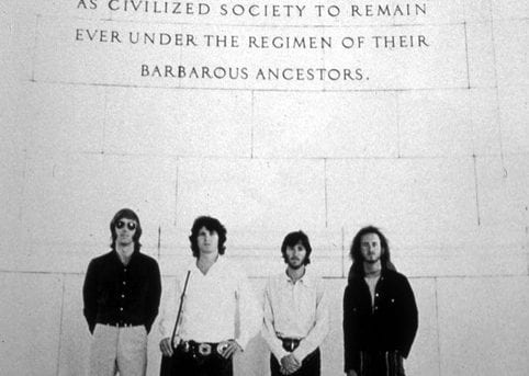 The Doors Visit Jefferson Memorial