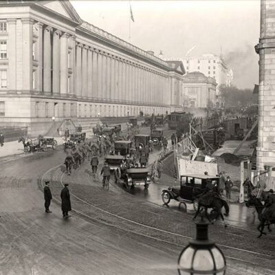 Amazing View of Washington in the 1910s