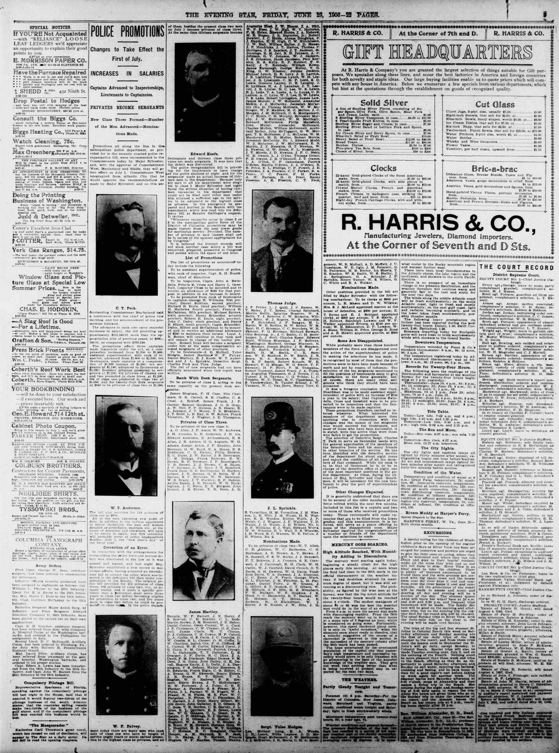 The Evening Star - June 29th, 1906