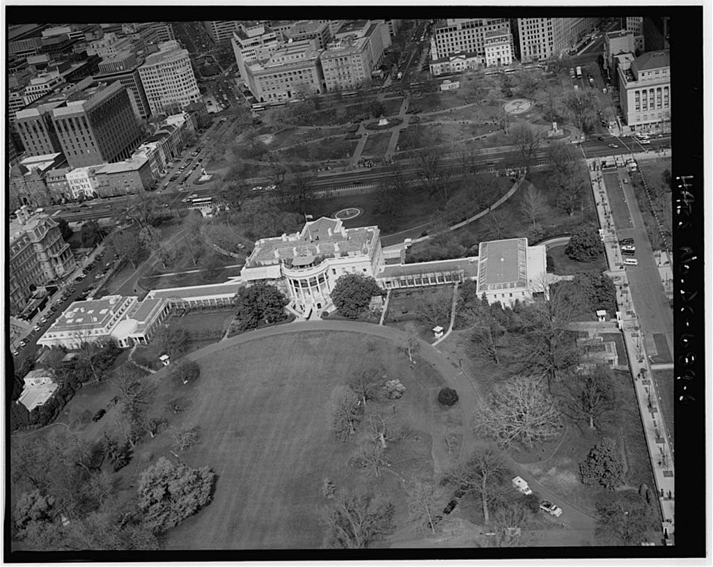White House from above