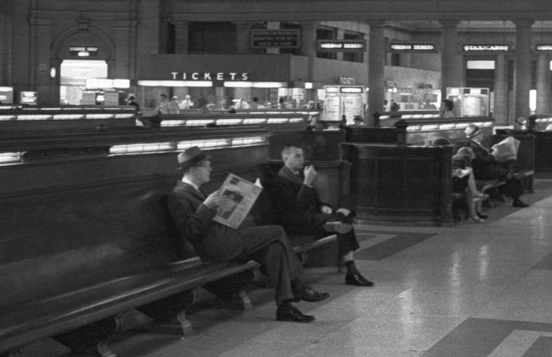 What Union Station Looked Like in 1963