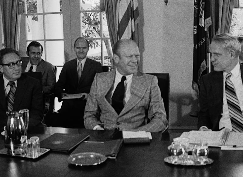 President Ford's Second Day on the Job
