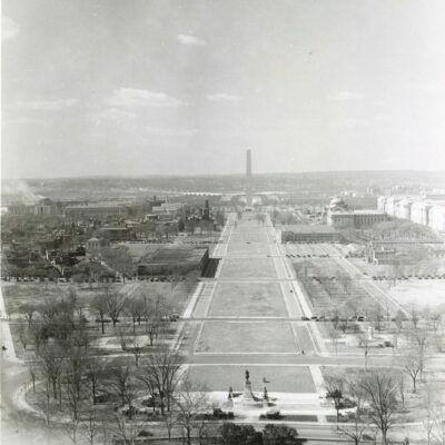 1936 view of the Mall