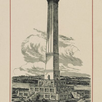 Proposed design for the completion of the Washington Monument, Washington, D.C.