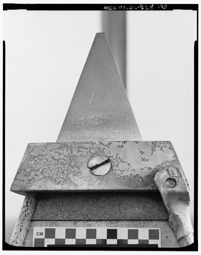 Cap of the Washington Monument