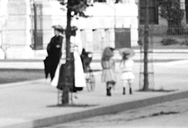 woman and two little girls