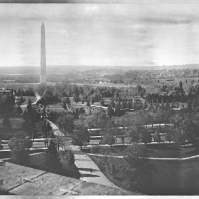 1886 Panorama of D.C. from Smithsonian Castle