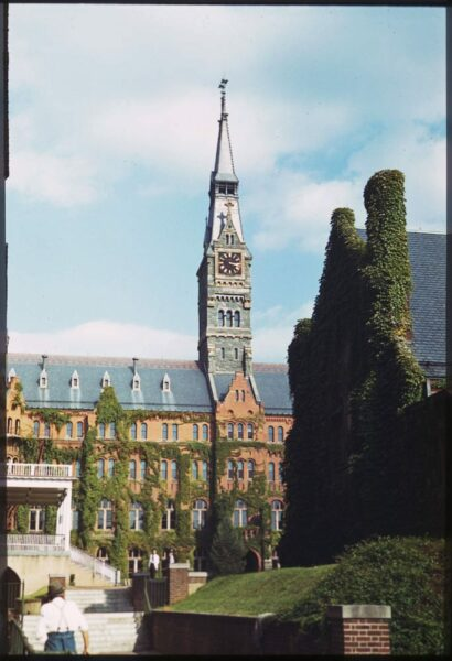 Healy Hall in 1940