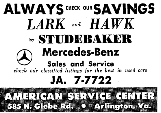 American Service Center advertisement