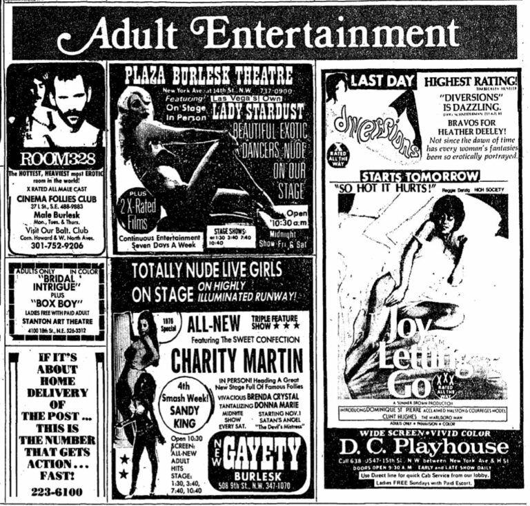 adult entertainment ads