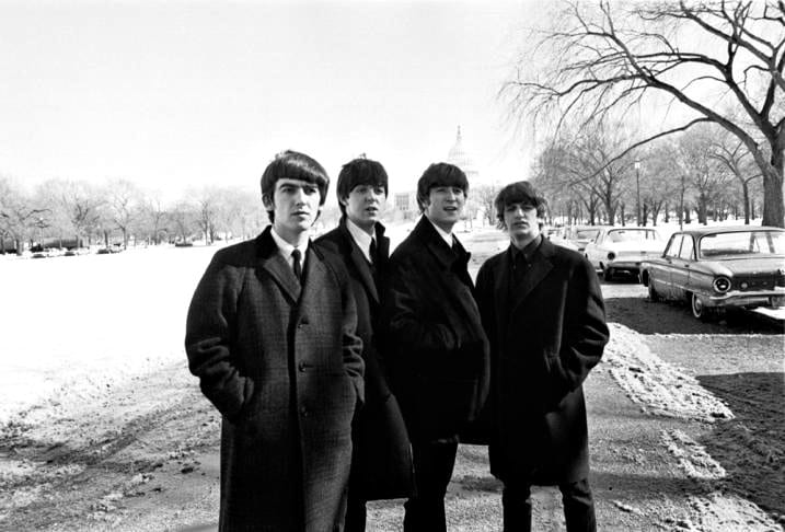 The Beatles on the Mall