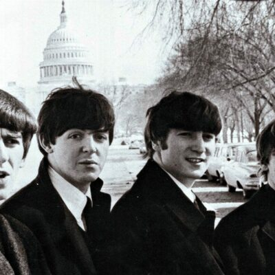 Photos of The Beatles in Washington, D.C.