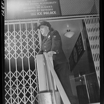 Chevy Chase Ice Palace, Washington. D.C. Security guard