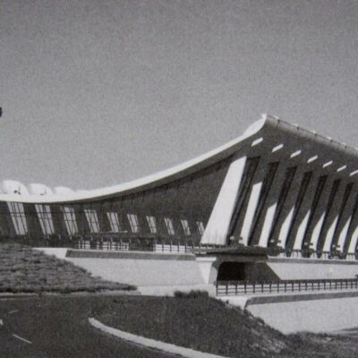Opening Dedication Ceremony of Dulles Airport in 1962