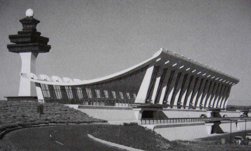 Dulles Airport in 1962