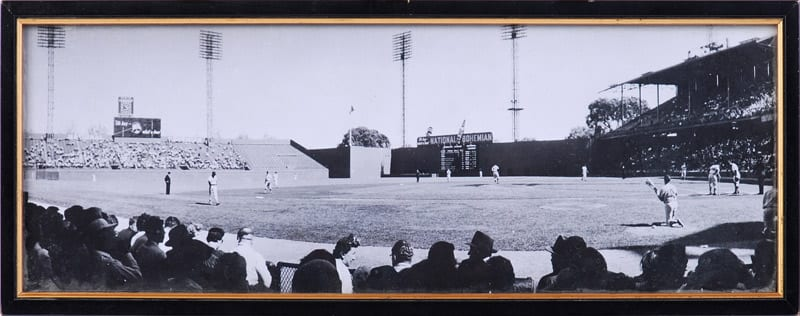 panoramic view of right field