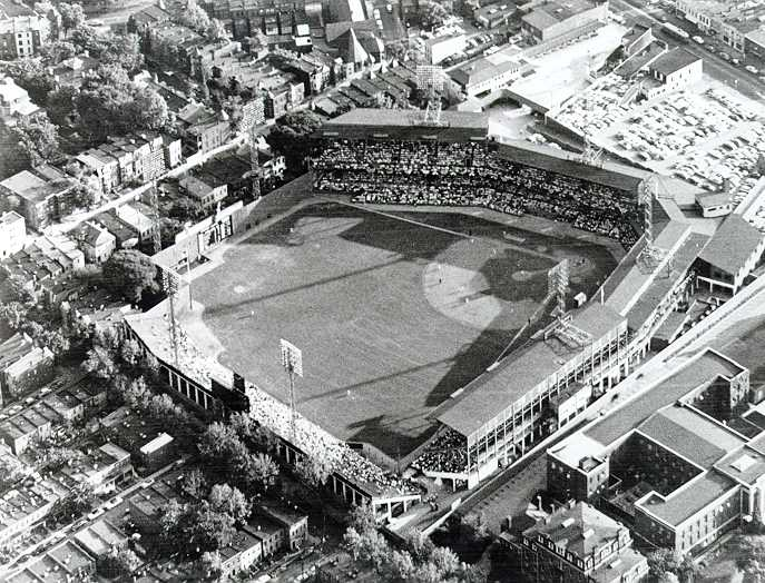 Griffith Stadium in 1960