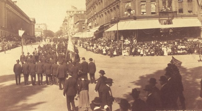 Grand Army of the Republic Parade in 1902
