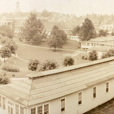 panorama of Walter Reed Hospital in 1919