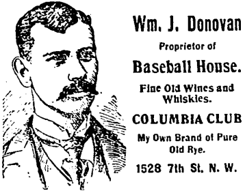 Baseball House advertisement - 1899