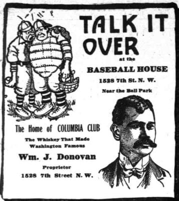 1911 Baseball House advertisement
