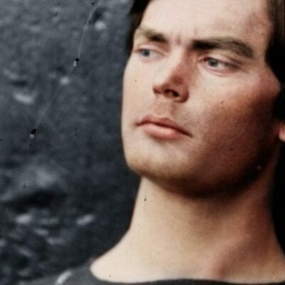Colorized Photo of Lewis Powell, Lincoln Conspirator