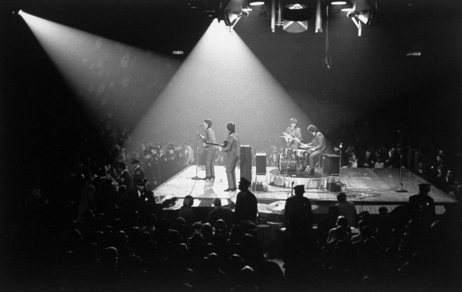 The Beatles in concert at the Washington Coliseum