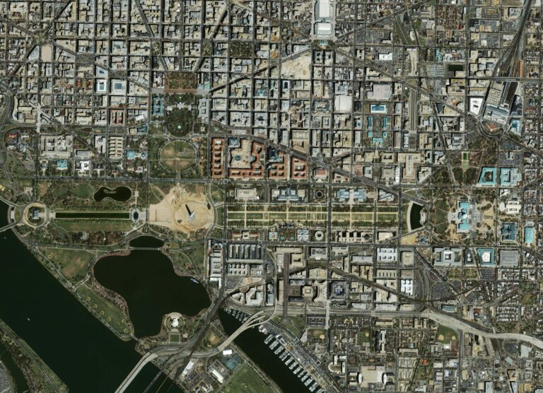 Washington, D.C. from space