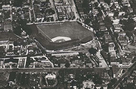 Griffith Stadium from the air