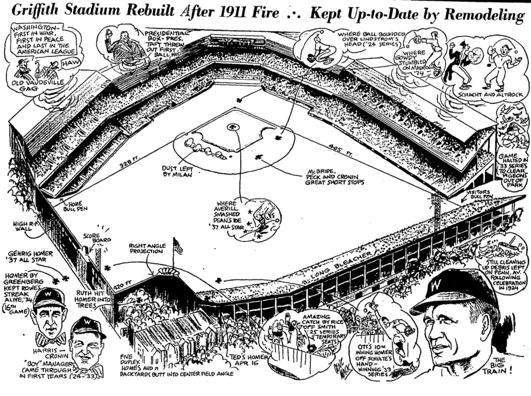 Griffith Stadium illustration