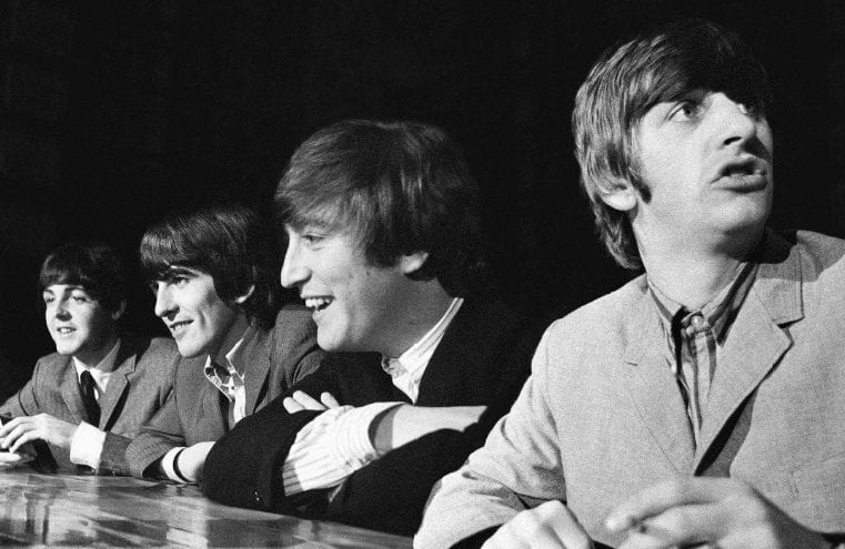 The Beatles press conference