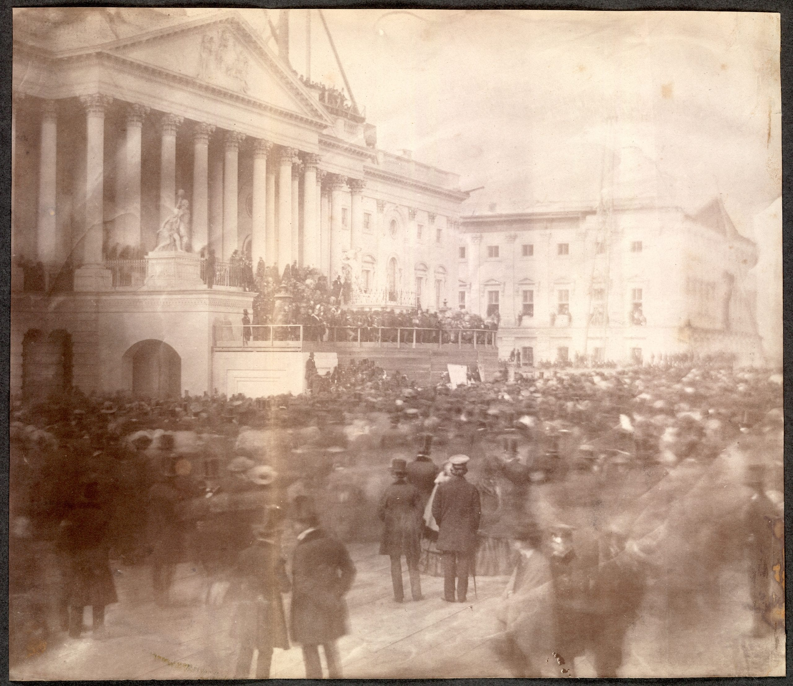 James Buchanan's Inauguration 1857