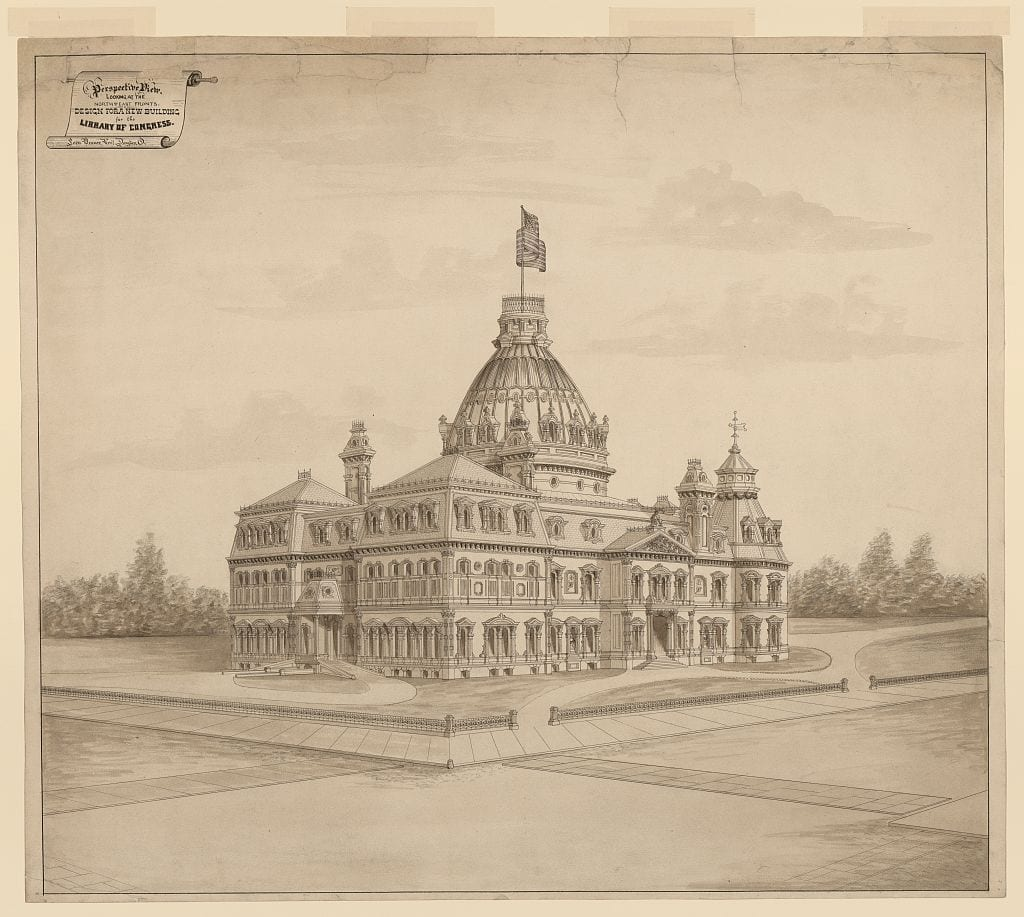 proposed Library of Congress design