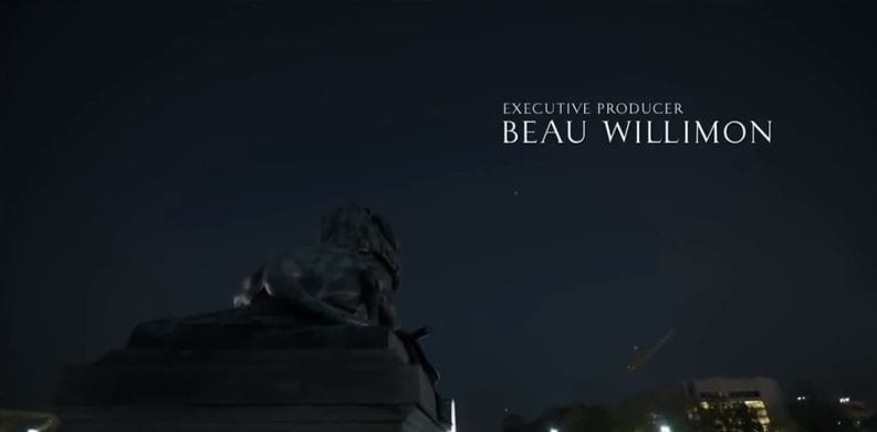 Ulysses S. Grant memorial lion in House of Cards opening credits