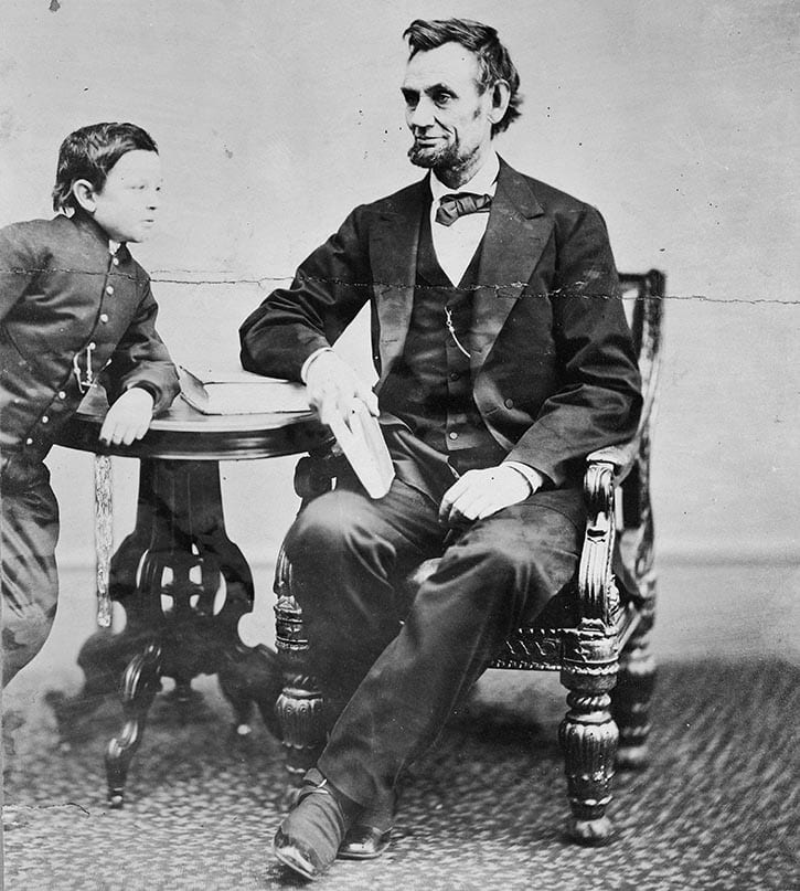 Abe & Tad Lincoln