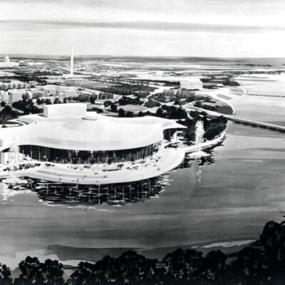 Proposed design for the Kennedy Center