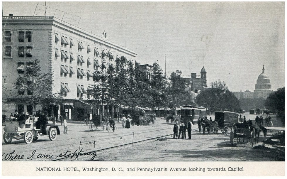 GoDCer's Postcard of the National Hotel