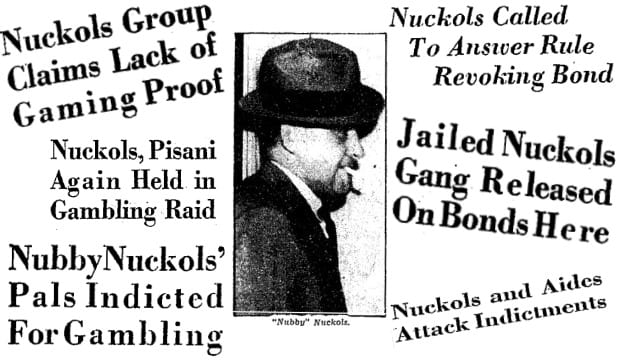 "Meet Carroll ""Nubby"" Nuckols: 1930s Rum Runner and Czar of Gambling"