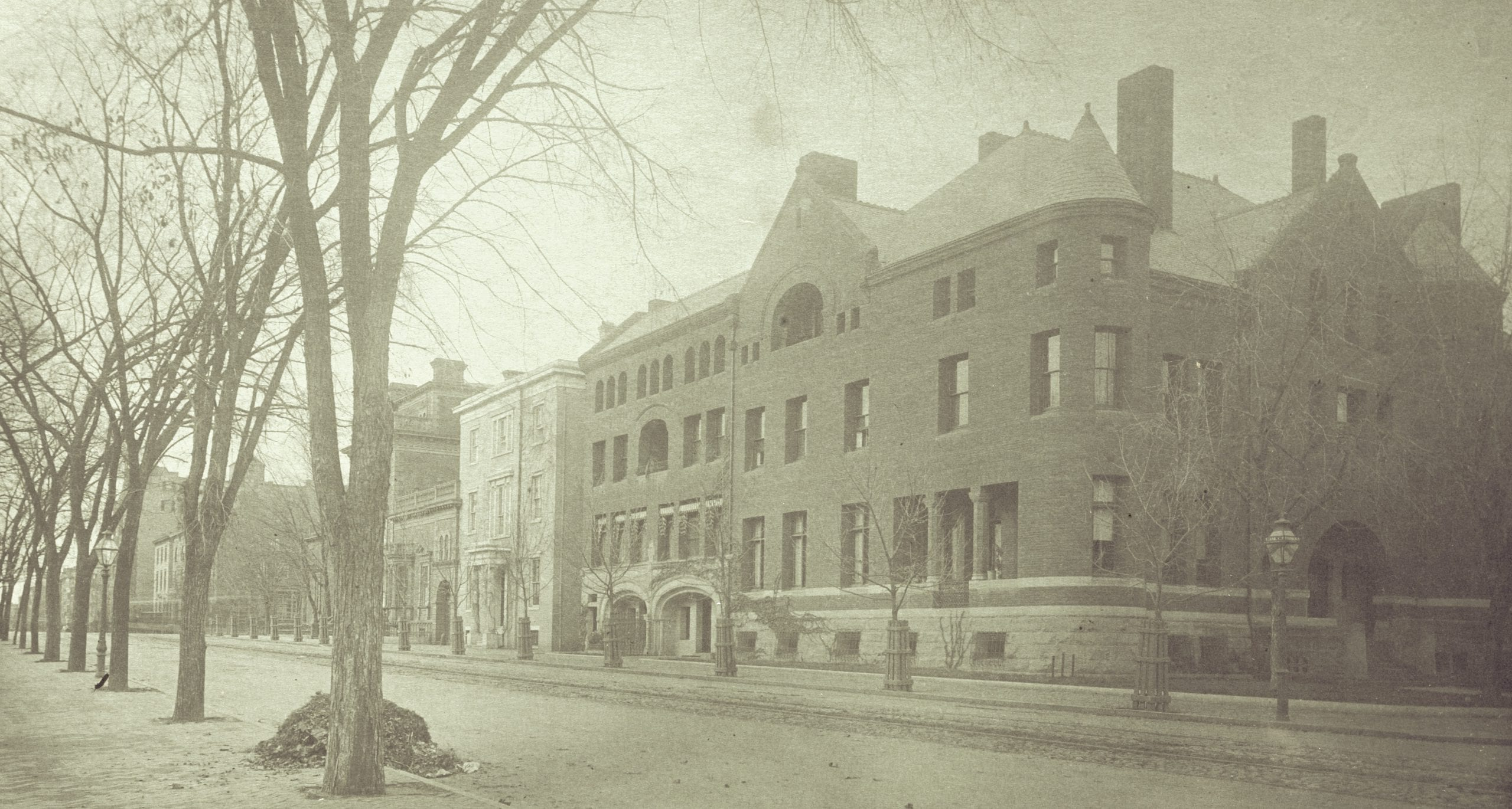 Rare Photo of Hay-Adams House in 1888