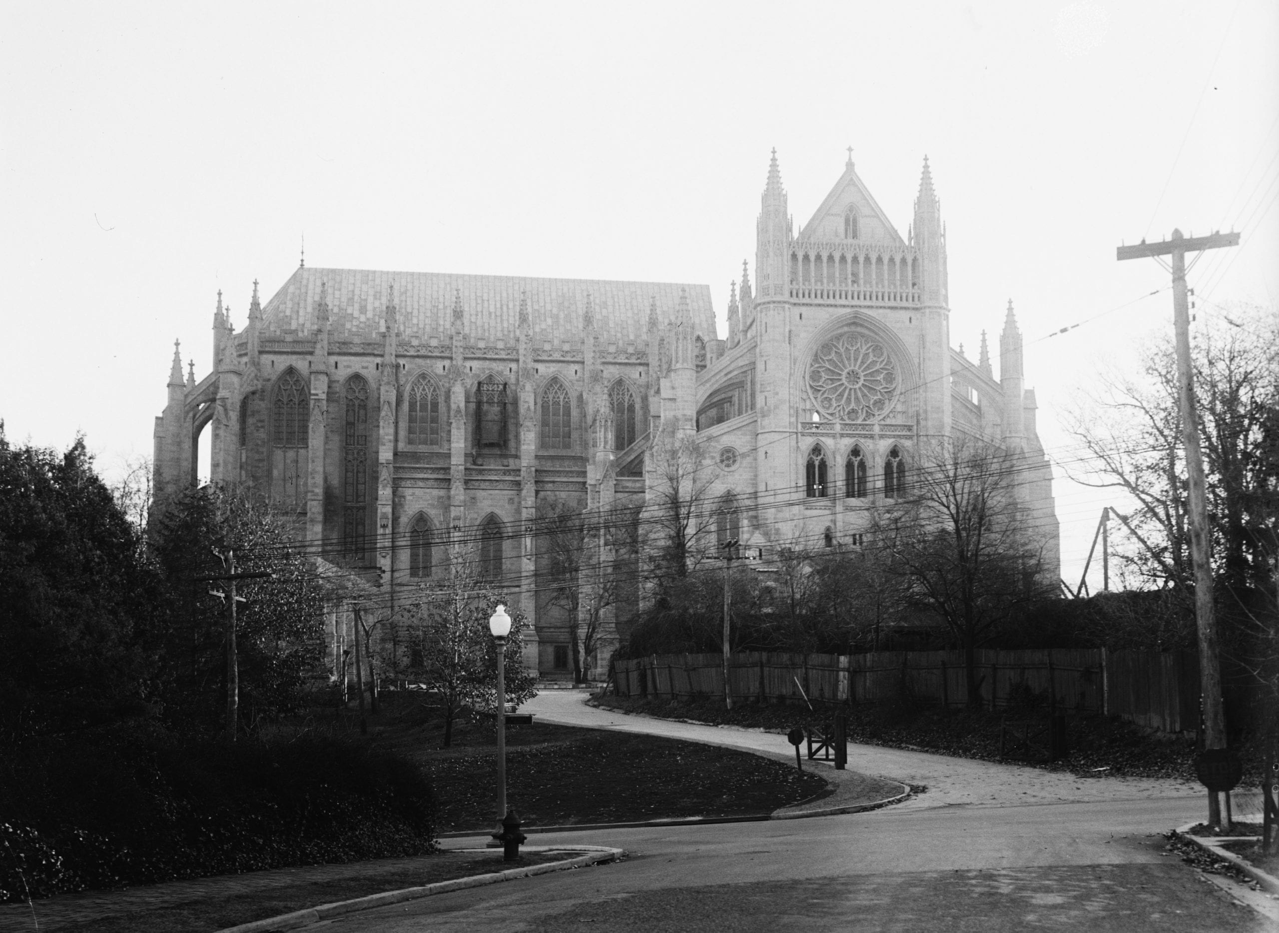 Early National Cathedral Construction Photos